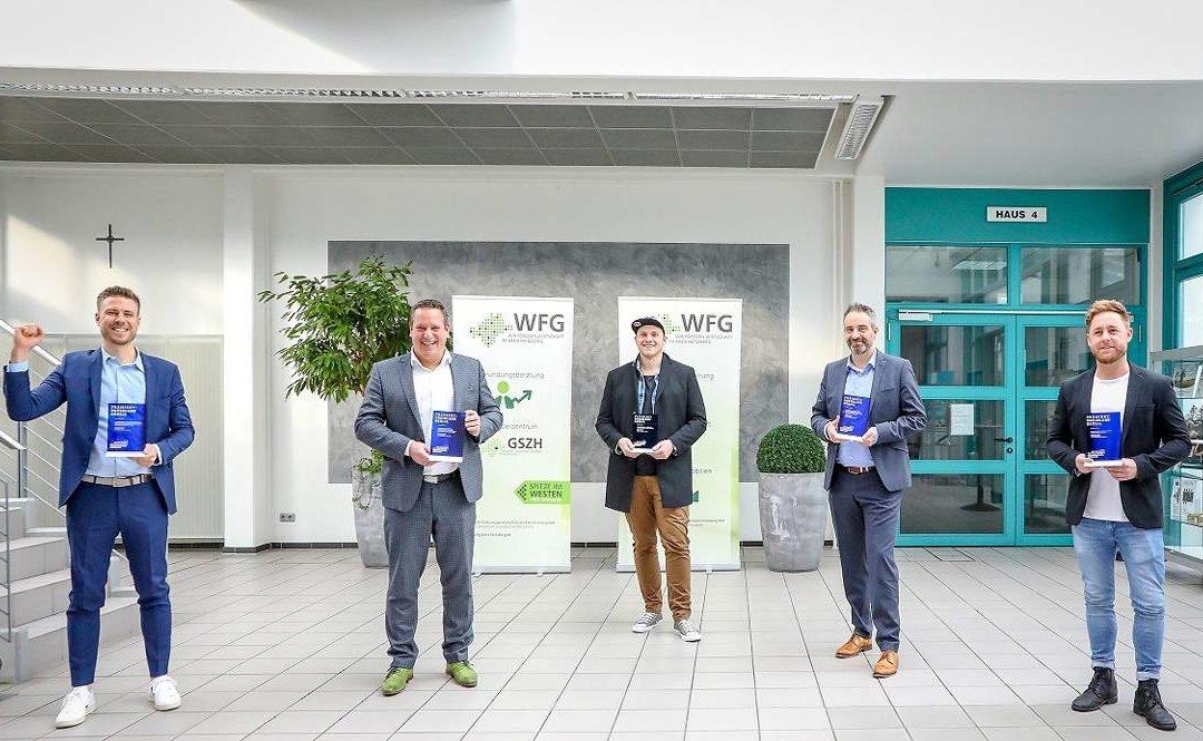 Innovationspreis RHEINLAND GENIAL erhalten